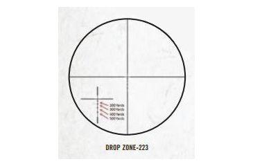 Bushnell AR Optics 3-12x40 Riflescope w/ BDC Reticle, Matte Black AR931240