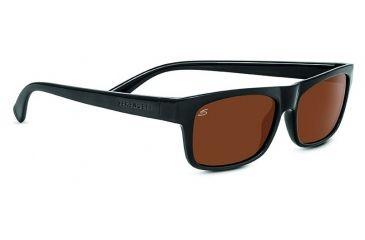 f326796b16ed Serengeti Rapallo Progressive Prescription Sunglasses, Shiny Black Frame,  8364PR