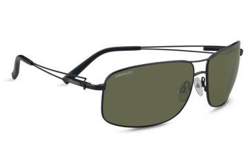 d4745ad14ba Serengeti Sassari Single Vision Rx Sunglasses - Satin Black Frame 7664